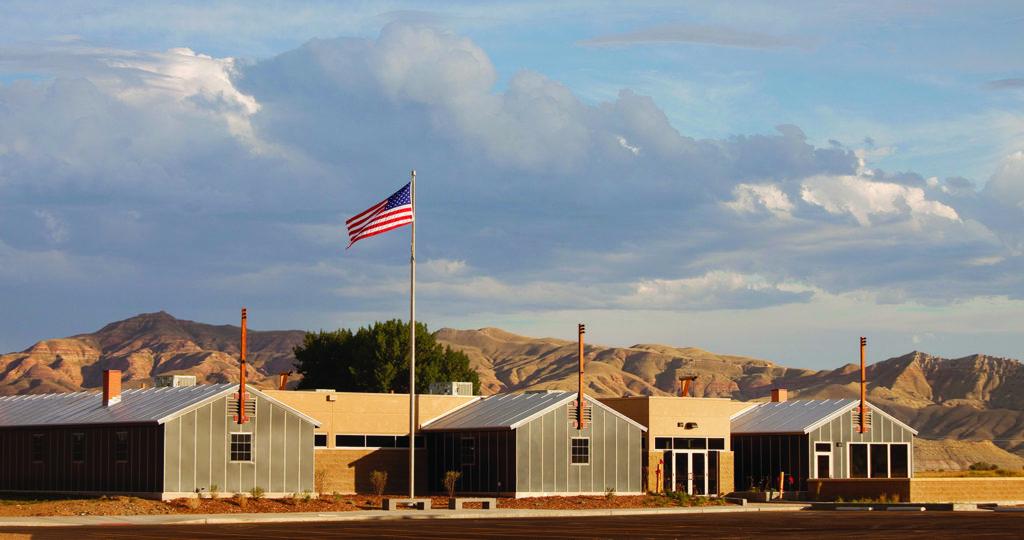 Heart Mountain Foundation Learning Center Outside